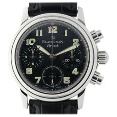 Blancpain Leman 2385F, Black Dial, Certified and Warranty