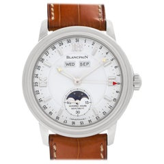 Blancpain Leman 2763, White Dial, Certified and Warranty