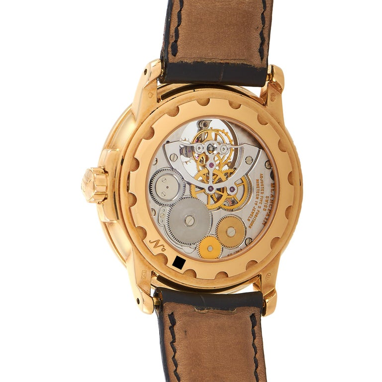Blancpain Léman Power Reserve Tourbillon Watch In Excellent Condition For Sale In Southampton, PA