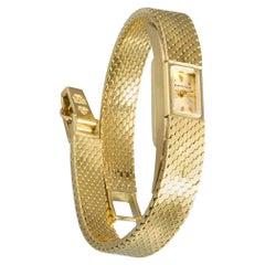 Blancpain Ultra Small 18 Karat Yellow Gold Wristwatch