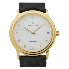 Blancpain Villeret 1151-1418-55, White Dial, Certified and Warranty