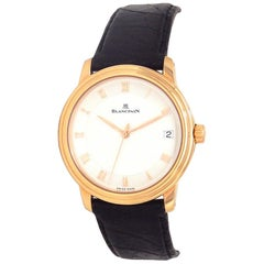 Blancpain Villeret 1158-3642-55, White Dial, Certified and Warranty