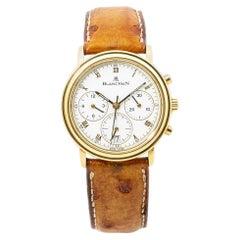 Blancpain Villeret 1180-3318-55 18K Yellow Gold Chronograph Unisex Watch