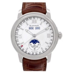 Blancpain Villeret 3563-1527-53, White Dial, Certified and Warranty