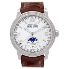 Blancpain Villeret 3563-1527-53, Blue Dial, Certified and Warranty