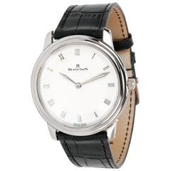 Blancpain Villeret Ultra Slim 0028.1527.55 Men's Watch in 18 Karat White Gold