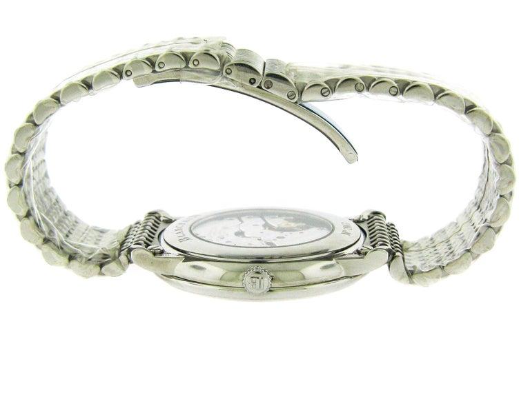 Women's or Men's Blancpain Stainless Steel Villeret Ultra Slim Self-Winding Wristwatch For Sale