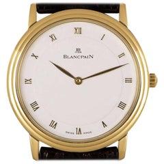 Blancpain Villeret Yellow Gold White Dial 0071-1418-55 Watch