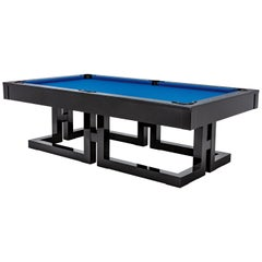 Blatt Billiards Modern High Gloss Black N17 Pool Table