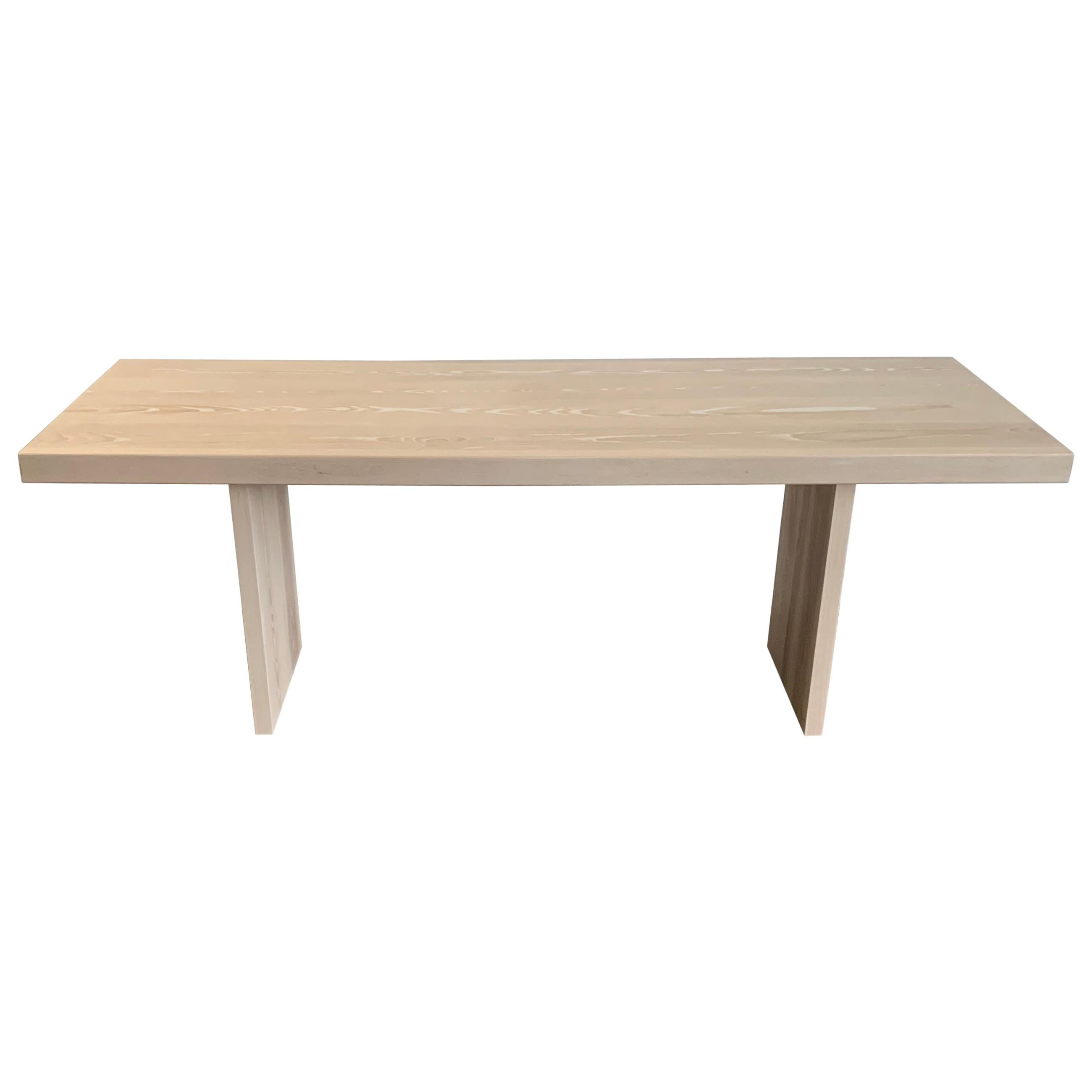 Bleached Ash Table