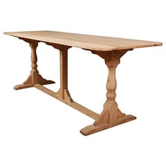 Bleached Oak Tavern Table