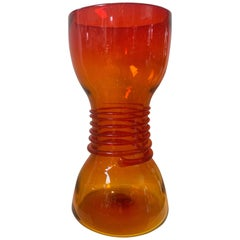 Blenko 1960s Art Glass Vase