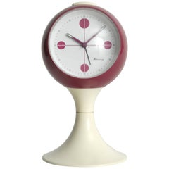 Blessing West Germany Pedestal Clock Retro, circa 1968