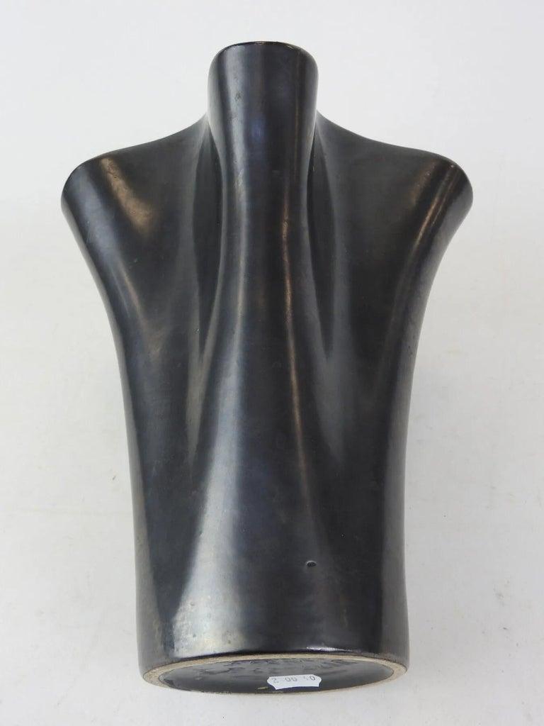 B.Letalle, saint clement ceramic vase, circa 1950.