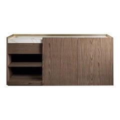 Block 2.0 Calacatta Marble Sideboard