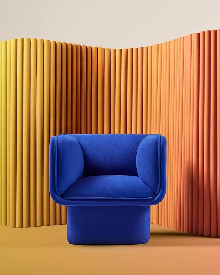 Post-Modern Block Armchair, Studio Mut For Sale