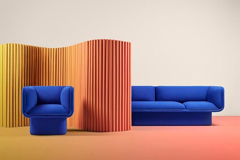 Spanish Block Armchair, Studio Mut For Sale