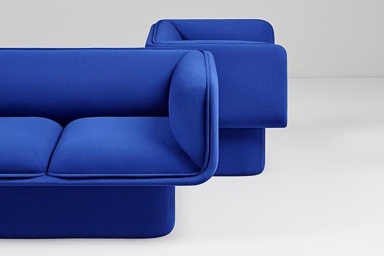 Contemporary Block Armchair, Studio Mut For Sale