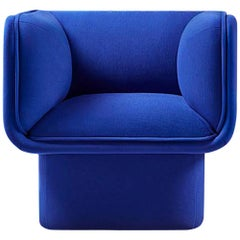Block Blue Armchair by Studio Mut