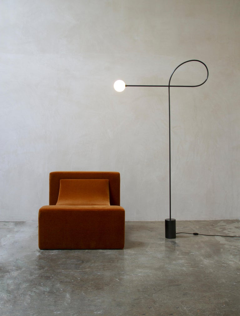 Modern Block Chair by Estudio Persona For Sale
