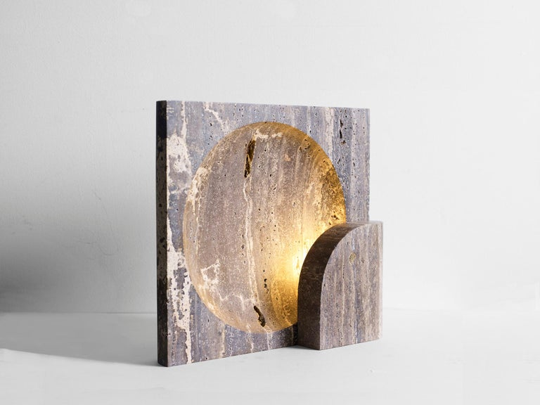 This sculptural item is handmade in Sydney, Australia.