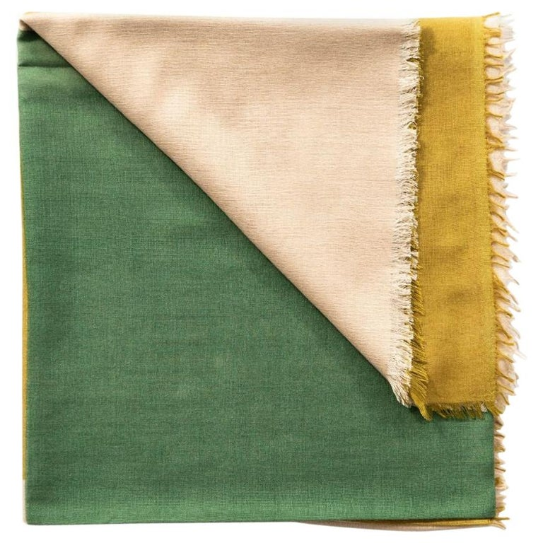 BLOK TOPAZ  Cashmere Scarf / Wrap  For Sale