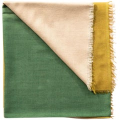Blok Topaz Silk Cashmere Scarf