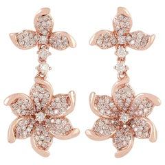 Bloom 18 Karat Gold Diamond Earrings