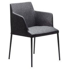 Bloom MP Gray Chair by Dario Delpin