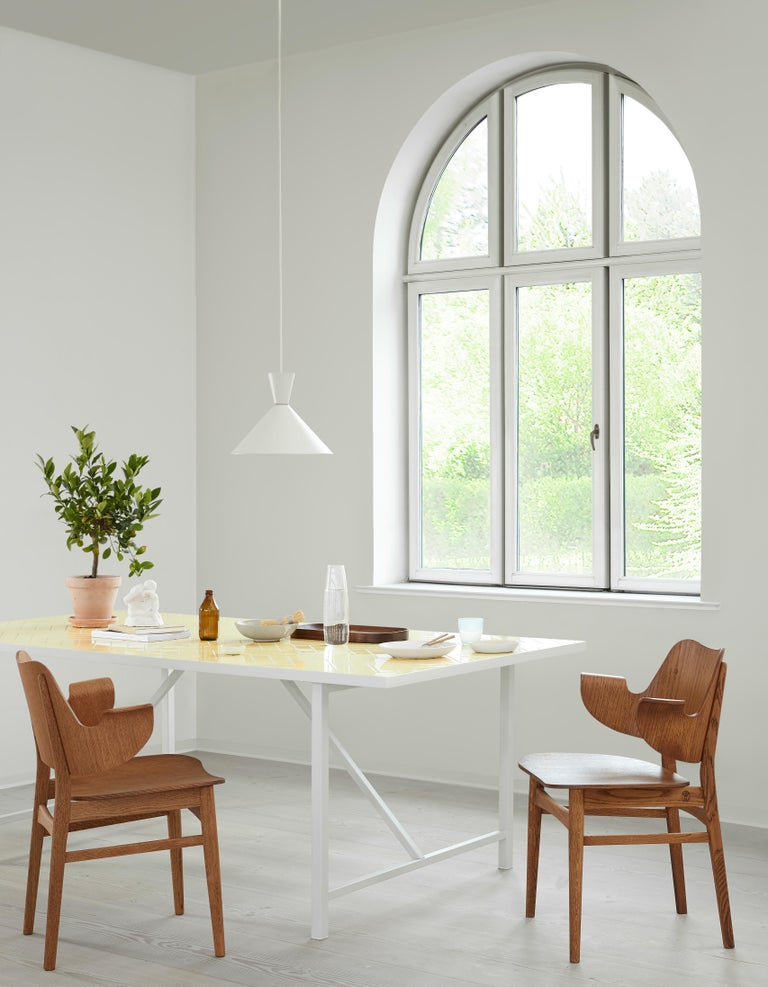 Lacquered Bloom Pendant Lamp, by Svend Aage Holm Sorensen from Warm Nordic For Sale