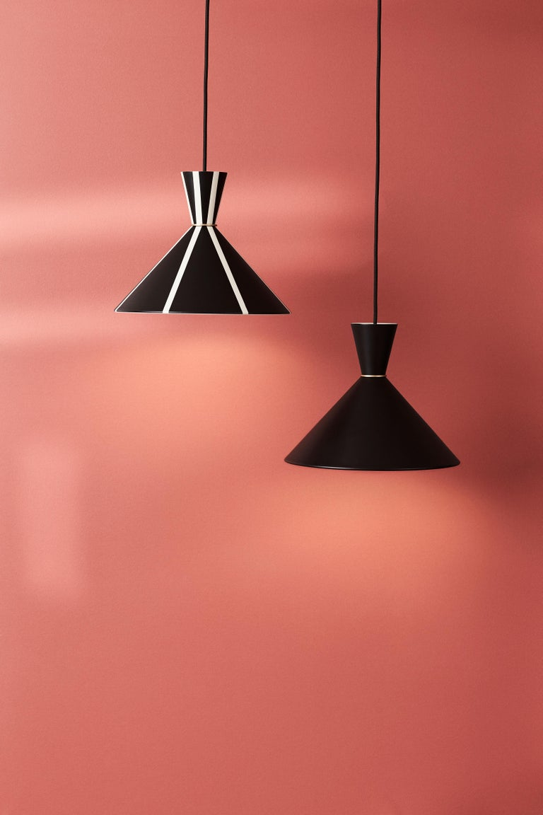 Steel Bloom Pendant Lamp, by Svend Aage Holm Sorensen from Warm Nordic For Sale