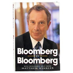 Bloomberg by Bloomberg, Signed First Edition Book, 1997