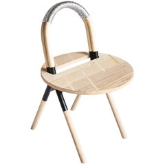Bloomberg Chair Waste Not Want It Recycled Computer Cables and Ashwood