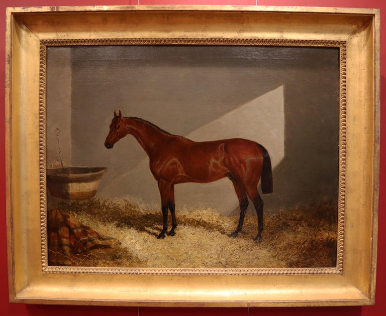 Bloomsbury, Winner of the Derby Oil on Canvas For Sale 2