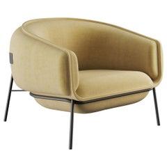 Blop Armchair in Velvet