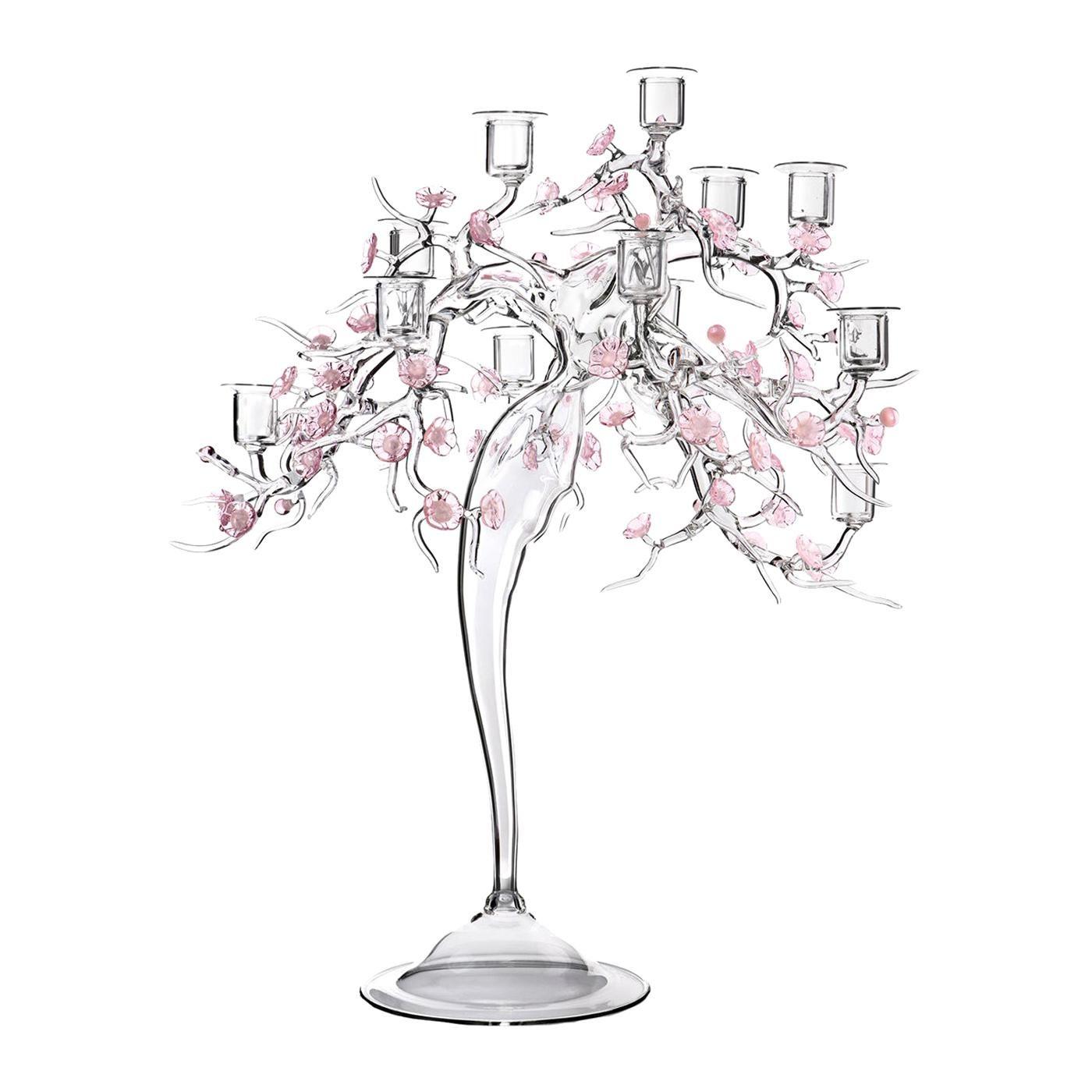 Blossom 12-Light Candelabra by Simone Crestani