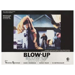 Blow-Up 1966 British Quad Film Poster