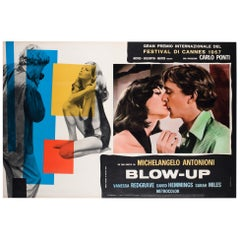 """Blow-Up"" 1966 Italian Photobusta Film Poster"