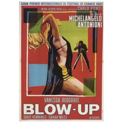 Blow-up (1967) Poster