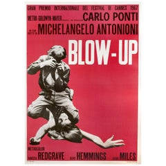 """Blow-Up"" 1970s Italian Due Fogli Film Poster"