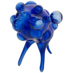 "Blown Glass ""Gage"" Sculpture by Dima Srouji"