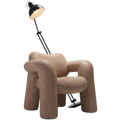 'Blown-Up with Lamp' by Schimmel & Schweikle in Vegan Leather Coating