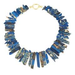 Blu Azzurite Necklace