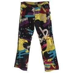 Blu Byblos multicoloured pants