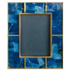 Blue Agate Photo Frame by Fabio Ltd