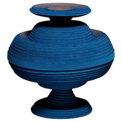 Blue Alchemy Vase by Siba Sahabi