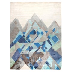 Blue and Gray Everest Rug I