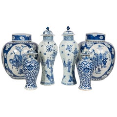 Blue and White Chinese Porcelain a Collection