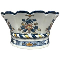 Blue and White Floral Bough Pot
