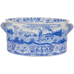Blue and White Footbath Made by Spode